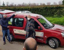 Aprilia, la Nicola Prezioso consegna un Berlingo per il trasporto di persone con disabilità all'associazione del Capitano Ultimo
