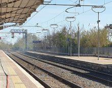 Incendio alla stazione di Lanuvio, stop ai treni FOTO