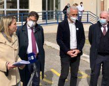 Visita dell'assessore regionale D'Amato al Goretti di Latina: si valuta nuovo hub per vaccini