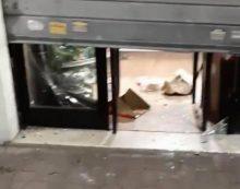 """Aprilia – Vandali danneggiano la vetrina di """"Istanbul Kebab"""", si cercano i responsabili FOTO"""
