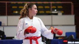 Campionato italiano under 21 karate Fijlkam, Anna Zullo di Aprilia è argento