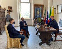 Ponte sul Garigliano, firmato l'accordo di programma tra le Province di Latina e Caserta per gli interventi di manutenzione straordinaria.