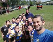 Tante emozioni per i ragazzi dell'Aprilia Rugby