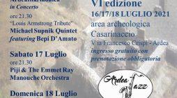 ArdeaJazz 6ª edizione, il meglio del jazz  dell'estate 2021