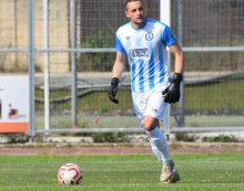 """Tra i pali dell'Aprilia Calcio resta Pier Paolo Salvati: """"molto contento di poter essere ancora qui""""."""