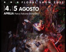 """Floral Show """"Estrosa 2021: Il Rinascimento italiano"""". Oggi e domani la IV edizione al Parco Falcone Borsellino di Aprilia."""