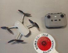 Usa il drone all'interno del Colosseo, 27enne denunciato dalla Polizia Locale