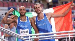 """Il Centro di Preparazione Olimpica """"Bruno Zauli"""" di Formia gioisce per le medaglie d'oro di Tamberi e Jacobs"""