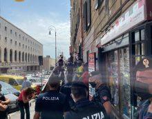 Maxi controllo interforze nell'area della stazione Termini, a Roma: un arresto, 18 denunce, 4 locali chiusi, 5 licenze sospese.