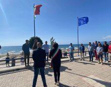 Cerimonia di commemorazione a Terracina per salutare il maggiore Gabriele Orlandi, morì 4 anni fa durante l'Airshow