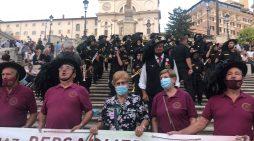 """151 anniversario della """"Presa di Roma"""", successo per l'associazione Bersaglieri Cotterli di Aprilia e la sua Fanfara FOTO"""