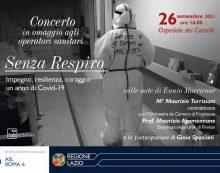La Asl Roma 6 organizza un concerto in omaggio agli operatori sanitari, sulle note di Ennio Morricone.
