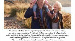 """""""Festa dei Nonni"""" il prossimo sabato 2 ottobre a Lanuvio."""
