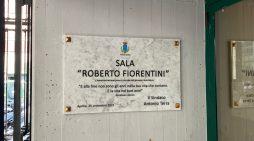 """La Sala Ragazzi della Biblioteca Comunale """"Giacomo Manzù"""" di Aprilia da oggi intitolata a Roberto Fiorentini."""