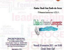 """A Sezze il convegno """"L'Italia e il Pensiero Convergente: Educare alla legalità"""""""
