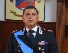 Il tenente colonnello Paolo Guida al comando del Reparto Territoriale di Aprilia