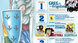 """APRILIA – Festa di San Michele Arcangelo: ecco il programma ufficiale. Sul palco """"Greg & The Frigidaires"""", Alberto Farina, Maurizio Mattioli e Gianluca Scintilla."""