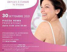 Parte alla Asl Roma6 la campagna regionale di promozione dei 3 programmi di Screening Oncologici.