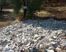 Smaltimento illecito di rifiuto su un terreno agricolo a Cori, una denuncia