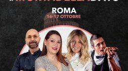 Sabato 16 e domenica 17 Ottobre sulla bellissima terrazza del Gianicolo, a Roma, si festeggia la Giornata Internazionale della Mortadella