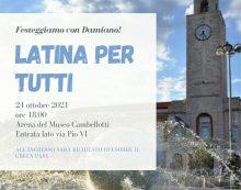 Festa nell'Arena del Museo Cambellotti, a Latina, questa domenica per l'elezione a sindaco di Damiano Coletta.
