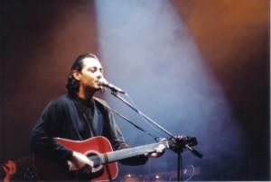 Luca Carboni - concerto Aprile 1990