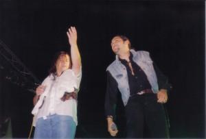 Marco Conidi e Paolo Belli – concerto alla Festa San Michele 1993
