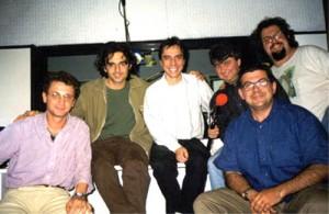Davide De Marinis - interviste  incontro con gli studenti al Teatro Europa - Dicembre 1999