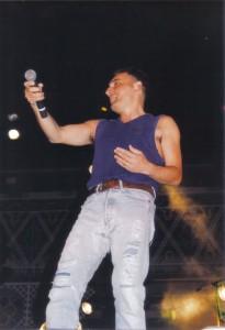 Mango - interviste e Festa di San Michele 1995