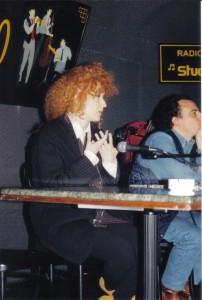 """Fiorella Mannoia - intervista ed incontro a """"Il Quadrato"""" del Novembre 1994"""