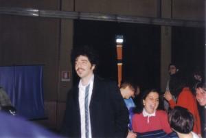Max  Gazzè intervista e incontro al Liceo Grassi di Latina - Aprile 2000