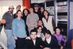 """Neri per Caso - intervista e serata al """"Felix"""" 1996"""