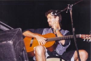 Daniele Silvestri - intervista e concerto al Parco dei Mille, Giugno 1995