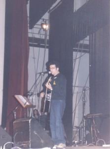 Enrico Sognato, incontro con gli studenti al Teatro Europa - Dicembre 1999