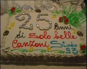 25 anni di Studio 93 - Festa a La Regina - Dicembre 2008