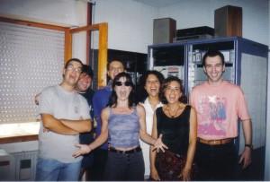 Paola Turci, interviste e concerto a Vallelata - 1995